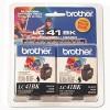 Brother® LC41BK2PKS Inkjet Cartridge