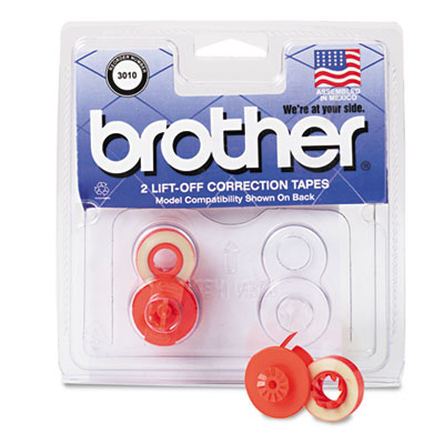 Brother® 3010 Lift-Off Correction Typewriter Tape