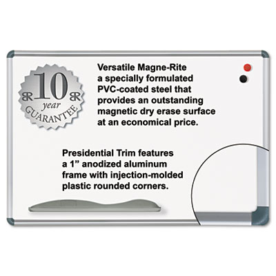 Best-Rite® Magne-Rite Magnetic Dry Erase Board