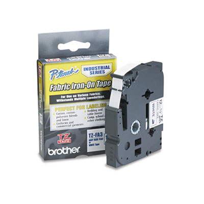 Brother® P-Touch® TZ Industrial Series Fabric Iron-On Tape