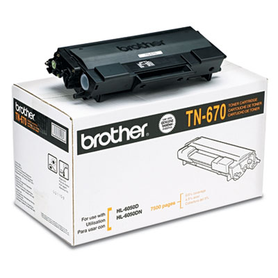 Brother® TN670 Toner Cartridge