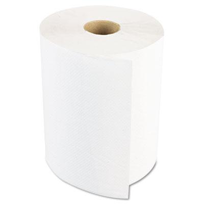 Boardwalk® White Paper Towel Rolls