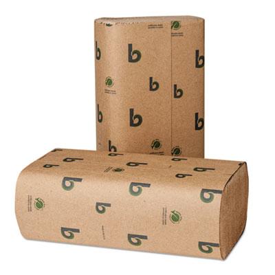 Boardwalk® Boardwalk® Green Folded Towels