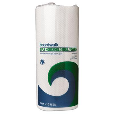 Boardwalk® Boardwalk® Green Household Roll Towels