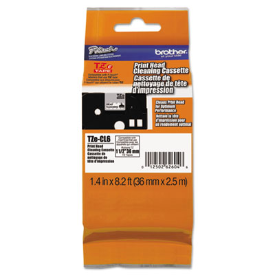 Brother® 1 1/2 inch Tape Electronic Labeling System Cleaning Cartridge