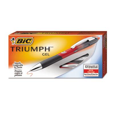 BIC® Triumph® Retractable Gel Roller Ball Pen