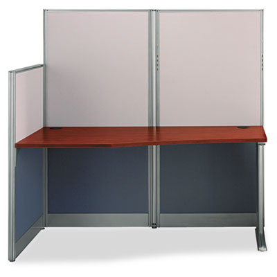 Bush® Office in an Hour™ Straight Workstation