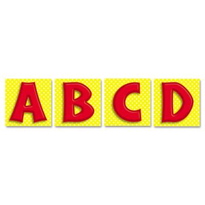 Carson-Dellosa Publishing Quick Stick™ Letters Set