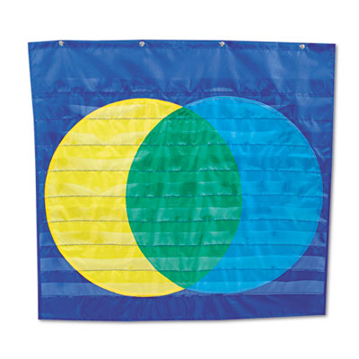 Carson-Dellosa Publishing Venn Diagram Pocket Chart