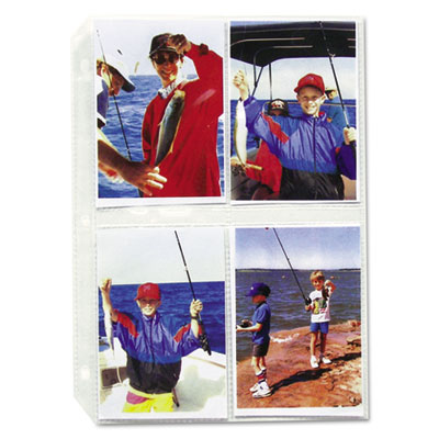 C-Line® Traditional Clear Photo Holders