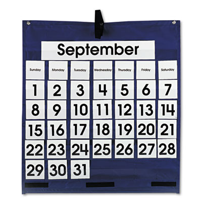 Carson-Dellosa Publishing Monthly Calendar Pocket Chart