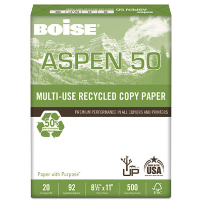 Boise® ASPEN® 50 Multi-Use Recycled Paper