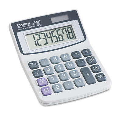 Canon® LS82Z Minidesk Calculator