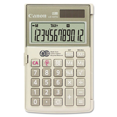 Canon® LS154TG Handheld Calculator