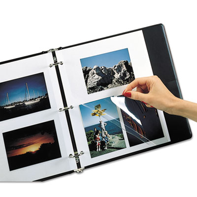 C-Line® Redi-Mount® Photo Storage Sheets