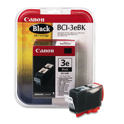 Canon® BCI3EBK, DT4479A003 Ink Tank