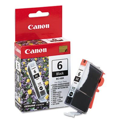 Canon® BCI6BK, BCI6C, BCI6M, BCI6PC, BCI6PM, BCI6Y Ink Tank