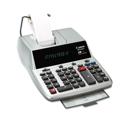 Canon® MP25DV 12-Digit Ribbon Printing Calculator