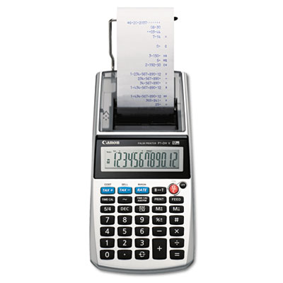Canon® P1-DHV 12-Digit Palm Printing Calculator