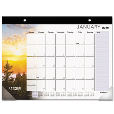 AT-A-GLANCE® Successories® Motivational Desk Pad