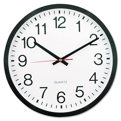 "Universal® 12 5/8"" Round Wall Clock"