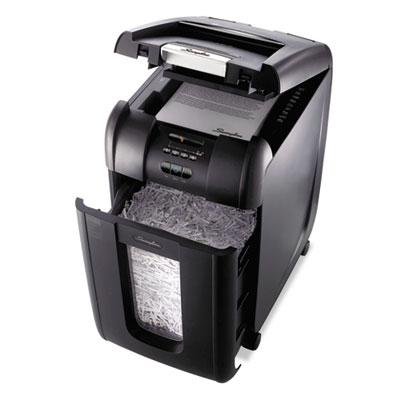 Swingline® Stack-and-Shred™ 300X Super Cross-Cut Auto Feed Shredder