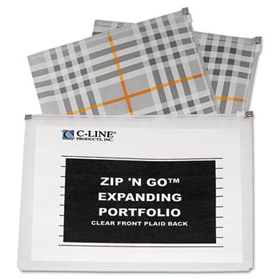 C-Line® Zip 'N Go Expanding Portfolio