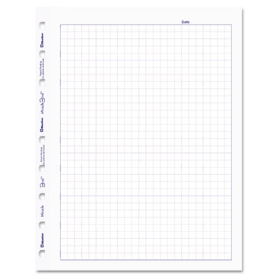 Blueline® MiracleBind™ Quad Ruled Refill Sheets