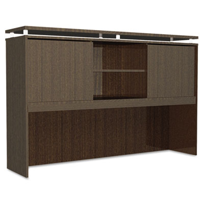 Alera® Sedina Series Hutch with Sliding Doors
