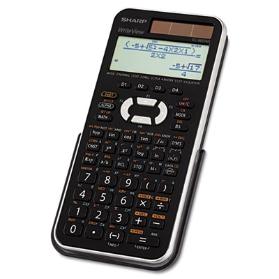 Sharp® EL-W516XBSL Scientific Calculator