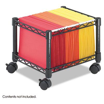 Safco® Mini Mobile Wire File Cart