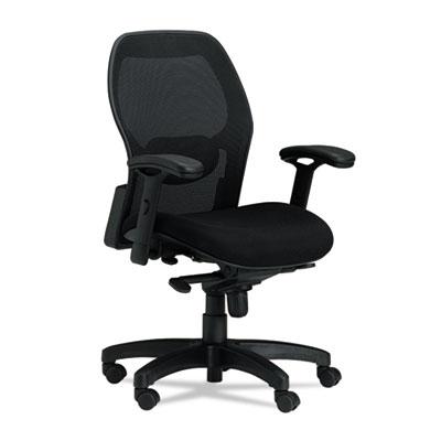 Mayline® Mercado™ Mid-Back Fabric/Mesh Chair