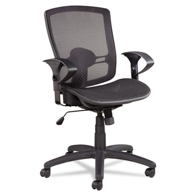 Alera® Etros Series Suspension Mesh Mid-Back Synchro Tilt Chair