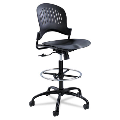 Safco® Zippi™ Plastic Extended-Height Chair