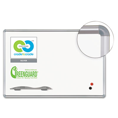 Best-Rite® Presidential Trim Porcelain Dry Erase Board