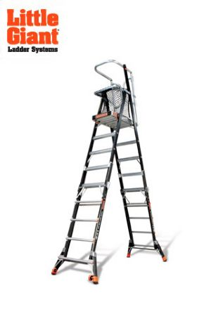 LITTLE GIANT LADDER® CAGE - ADJUSTABLE ENCLOSED PLATFORMS