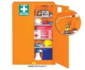 H860002 - Justrite Mfg. Co. - EMERGENCY PREPAREDNESS CABINET at ...