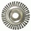 Weiler® Roughneck® Stringer Bead Twist Knot Wire Wheels