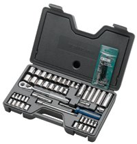 Armstrong Tools 57 Piece Fractional/Metric Socket Sets