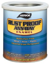 Aervoe Any-Way® RustProof Enamels