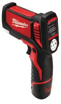 Milwaukee® Electric Tools M12™ Cordless Laser Temp-Gun™ Thermometers