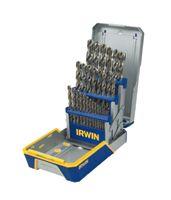 Irwin® 29-pc Cobalt M-35 Metal Index Drill Bit Sets
