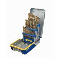 Irwin® 29-pc Titanium Metal Index Drill Bit Sets
