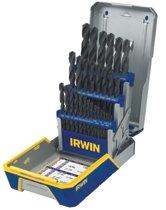 Irwin® 29-pc Black Oxide Metal Index Drill Bit Sets