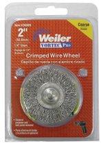 Weiler® Vortec Pro® Stem Mounted Crimped Wire Wheels
