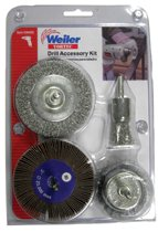 Weiler® Drill Accessory Kits