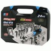 Channellock® 24 Piece Uni-Fit Socket Set