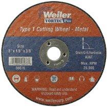 Weiler® Small Type 1 Cut-Off Wheels