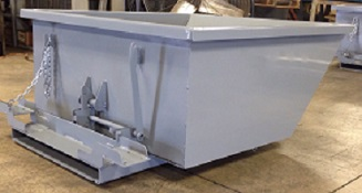 Low Profile Dump Hopper - Stainless Steel Dump Hopper