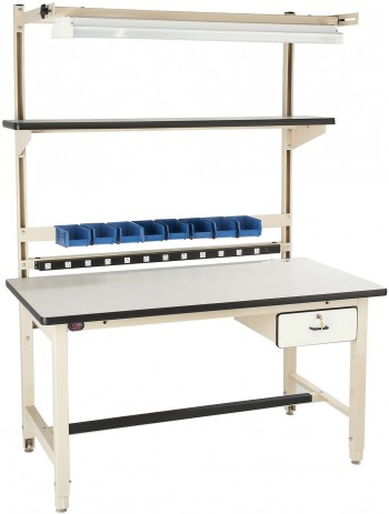 Heavy Duty Workbench with 5,000 lbs. Load Capacity - Complete Unit